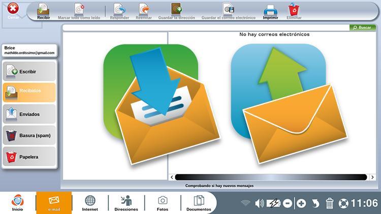 configuración Mail